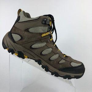 Merrell Boulder Old Gold Tan Grey Hiking Boot